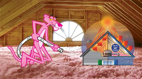 Attic insulation services in Rogers, MN